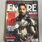 Empire Magazine April 2013 issue 286 Iron man 3